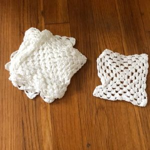 Other - 👜 3 for $20 Small crocheted coasters